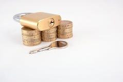 pieniężna ochrona fotografia stock