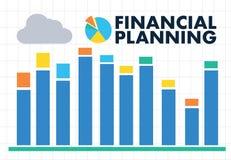 pieniężnego planowania emerytura planowania mężczyzna przy retireme i kobieta Zdjęcie Stock