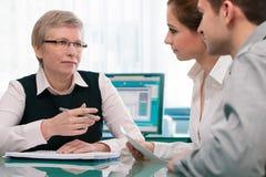 Pieniężnego planowania konsultacja Obraz Stock