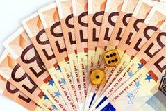 pieniężny hazard fotografia royalty free