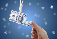 pieniężny kryzysu świat Obraz Stock