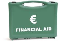 pieniężny kryzysu euro Zdjęcia Royalty Free