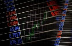 Pieniężny lub biznesowy tło Zdjęcie Stock