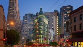 Pieniężny okręg, San Fransisco, Kalifornia, usa Zdjęcia Royalty Free
