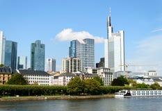 Pieniężny okręg w Frankfurt Zdjęcie Royalty Free