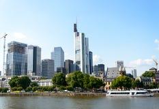 Pieniężny okręg w Frankfurt Obraz Stock