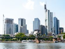 Pieniężny okręg w Frankfurt Obraz Royalty Free