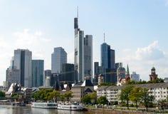 Pieniężny okręg w Frankfurt Obrazy Royalty Free