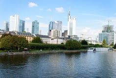 Pieniężny okręg w Frankfurt Obrazy Stock