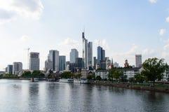 Pieniężny okręg w Frankfurt Zdjęcia Stock