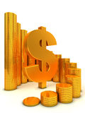 pieniężny pojęcie sukces Zdjęcie Stock