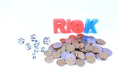 Pieniężny ryzyko Obrazy Stock