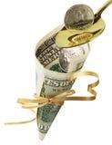pieniężny strumień Obrazy Stock