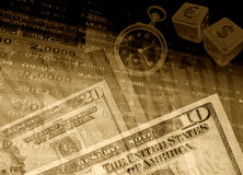 pieniężny tło sukces Zdjęcie Stock