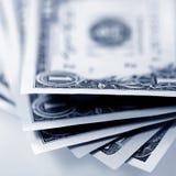 Pieniądze amerykanina dolary Obrazy Royalty Free