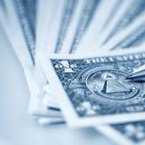 Pieniądze amerykanina dolary Zdjęcie Royalty Free