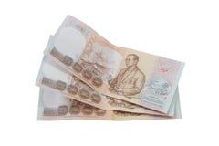 Pieniądze baht Obraz Royalty Free