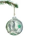 Pieniądze bauble Obrazy Royalty Free
