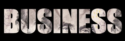 Pieniądze; Biznes Obraz Royalty Free