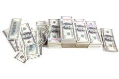 pieniądze bogactwo Zdjęcia Stock