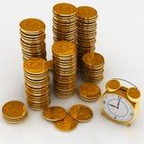 pieniądze czas Obrazy Stock