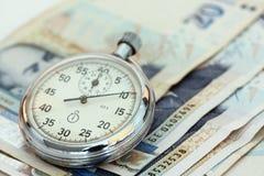 pieniądze czas Zdjęcie Royalty Free