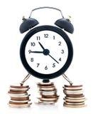 pieniądze czas Obraz Stock