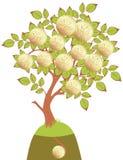 pieniądze drzewa wektor royalty ilustracja