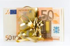 pieniądze euro Obraz Stock