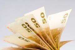 pieniądze euro Fotografia Stock