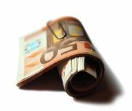 pieniądze euro Zdjęcia Royalty Free