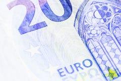 Pieni?dze euro banknoty i monety obraz royalty free