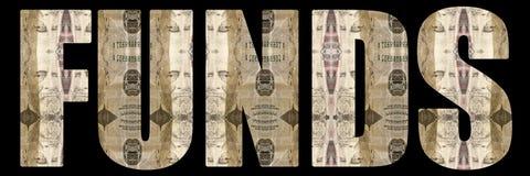 Pieniądze; Fundusze Zdjęcie Stock