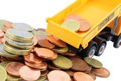 pieniądze góra Obraz Stock
