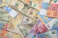 Pieniądze Krajowa waluta Zdjęcia Stock