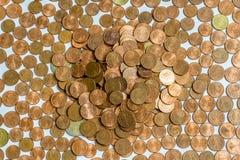 Pieniądze monety Obraz Royalty Free