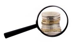 Pieniądze monety Fotografia Royalty Free