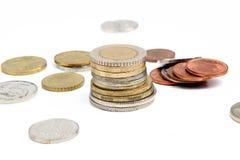 Pieniądze monety Zdjęcie Royalty Free
