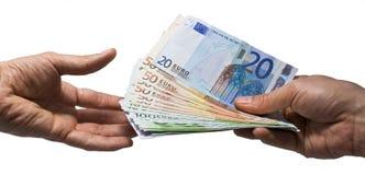 pieniądze oferuje ty Zdjęcia Stock