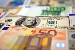 pieniądze papier Zdjęcia Stock
