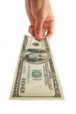 pieniądze perspektywa Obraz Royalty Free
