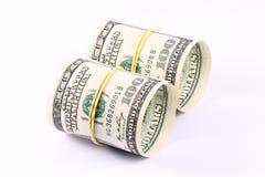 pieniądze rolki Obrazy Stock