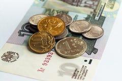 pieniądze rosjanin Fotografia Royalty Free