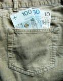 pieniądze shine Obraz Stock