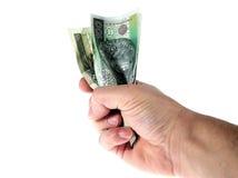 pieniądze shine Obrazy Stock
