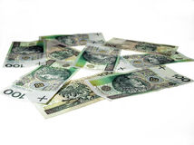 pieniądze shine Zdjęcia Royalty Free
