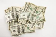 pieniądze stos Zdjęcia Royalty Free