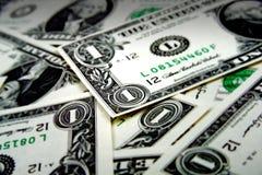 Pieniądze stos Obraz Royalty Free