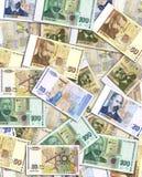 pieniądze stos Obrazy Royalty Free
