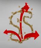 Pieniądze sukces Obraz Royalty Free